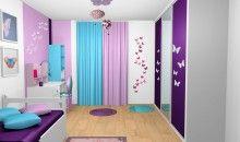 chambre violet clair   Le violet est tendance en intérieur - Déco ...