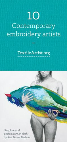 10 Contemporary embroidery artists
