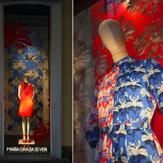 Did you know? Maria Grazia Severi opens a new flagship store in Via della Spiga 36, Milan. Arte Vetrina Project realized this colorful windows display to celebrate the Spring/Summer Collection 2017. #avpeverywhere #MFW #mannequin #flagshipstore della Spiga Milano February 2017  Creative Concept: Arte Vetrina Project Art director: Omar Pallante Production: Coolest