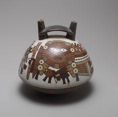 Double-spout bottle [Peru; Nazca] (1996.174) | Heilbrunn Timeline of Art History | The Metropolitan Museum of Art