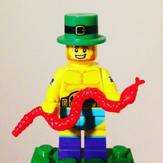 Happy St Patrick's Day which is also Muay Thai day. I think because it's the day St Patrick's kicked the snakes arse out of Ireland.  #muaythai #stpatricksday #snake #lego #minifigure #legominifigure #legoart #afol #toyphotography #legostagram #plasticbricks #instalego #legography #legophotography #sigfig #bricknetwork #legogram #toyphotography #mixedhistory by nemmibrix