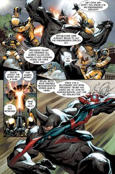 Improbable Previews: Spider-Man Battles Rhino, Gets Creative In Clone Conspiracy Omega