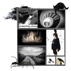"""Something Wicked"" by funnfiber ❤ liked on Polyvore featuring art and integrityTT"
