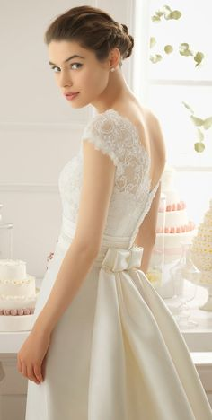 Aire Barcelona 2015 Bridal Collection - Belle The Magazine