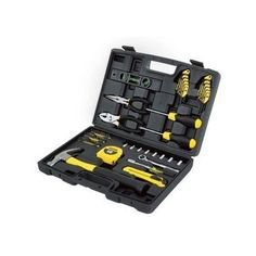 65 Piece Tool Kit Homeowner Repair Tools Set W Case Hammer Screwdriver Wrenches #STANLEYTOOLS