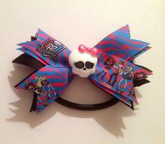 Monster High Ponytail holder! Only $8! www.facebook.com/AllTheRageShop