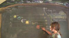 Waldorf ~ 1st grade ~ Pentatonic Flute ~ Music Symbols