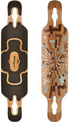 Loaded Tan Tien Flex 1 Longboard Skateboard Deck With Laser Cut Black Grip Tape >>> Click image to review more details.