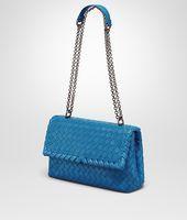 Bottega Veneta Intrecciato leather cross-body bag   shopping in oct ... 9358ba6925