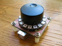 Adafruit Trinket compatible µVolume USB Media Control PCB