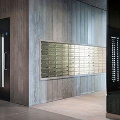 Mailroom, Postroom, Lobby design