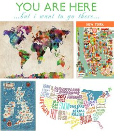 Wanderlust - Travel - Maps maps maps. http://www.mapsales.com/?utm_source=pinterest&utm_medium=pin&utm_campaign=caption