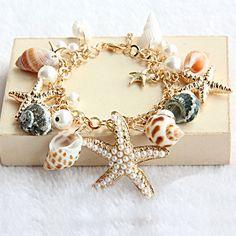 Fashion starfish Beach Bracelet