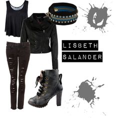 Lisbeth Salander, created by labellavita688.polyvore.com