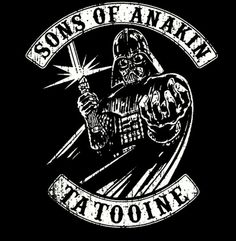 Sons of anarchy. Sons of Anakin Skywalker. Star Wars