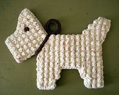 Scottie Dog Potholder