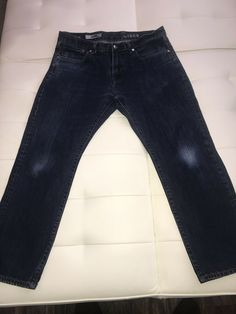 e1e501c7 GAP 1969 Womens Jeans Slim Boot Cut Denim Blue Dark Washed Out Knees Size  36/30 #fashion #clothing #shoes #accessories #womensclothing #jeans (ebay  link)