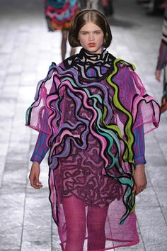 central saint martins 2013 ba fashion show