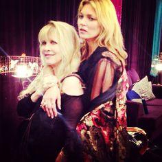 Stevie Nicks with Kate Moss (2013)