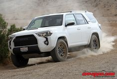 Getting some seat time in the SUV model in Toyota's new off-road-focused TRD Pro lineup