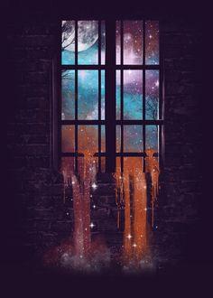 Let the Stars Flow Into You V.2 Art Print by Dan Elijah G. Fajardo | Society6