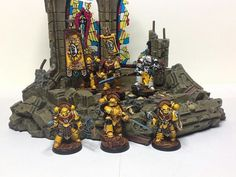 Imperial Fists command squad, FW facebook page