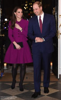hrhduchesskate:  Guild of Health Writers Conference, Chandos House, London, February 6, 2017-Duke and Duchess of Cambridge attended the Guild of Health Writers Conference on behalf of the HeadsTogether Campaign