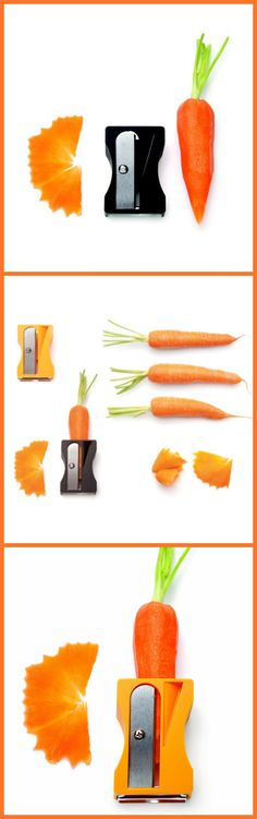 Peel Vegetables in 30 SECONDS with this INGENIOUS KITCHEN TOOL peels, sharpens, and curls vegetable ribbons of carrots, zucchini and cucumbers.