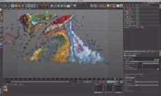 Learn how to create beautiful abstract picture in Cinema 4D using X-Particle, in this tutorial by Ata Albehany https://vimeo.com/104864879 Abstract with X-