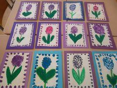 :) Spring Theme, Spring Art, Winter Theme, Spring Crafts, Love Stick, Black Construction Paper, Wooden Snowflakes, Kindergarten Crafts, Mittens Pattern