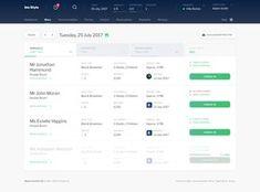InnStyle - Diary view by Jarek Ceborski Workflow Design, Wireframe Design, Dashboard Design, Ui Ux Design, Website Design Layout, Web Layout, Web Design Tools, Tool Design, Enterprise Application