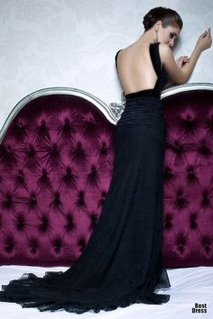 Love the back!...Bien Savvy Evening Gowns glamour featured fashion Evening Gowns Bien Savvy