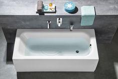 LAURA obdélníková vana 170x75x39cm, bílá : SAPHO E-shop Bath Screens, Bathtubs, Corner Bathtub, Lp, Sink, Bathroom, Shopping, Home Decor, Sink Tops