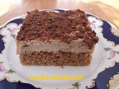 Žloutky ušleháme s cukry do pěny. Postupně přidáme olej, mléko, kakao a mouku s práškem do pečiva. Nakonec zlehka vmícháme tuhý sníh z bílků.... Tiramisu, Ethnic Recipes, Food, Eten, Tiramisu Cake, Meals, Diet