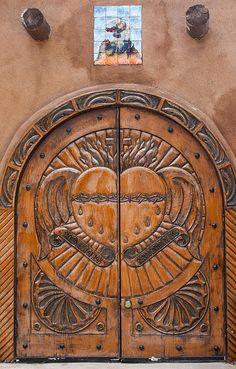 Chimayo, New Mexico:http://commons.wikimedia.org/wiki/File:S_CORDIS_IESU_SEVEREN-ENTE.jpg#mediaviewer/File:S_CORDIS_IESU_SEVEREN-ENTE.jpg