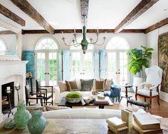 "Instagram'da House Beautiful: ""Holy French doors!😍(📷: @ericageorgedines | Design: @barbarawestbrookinteriors) #instahome #interiordesign"""