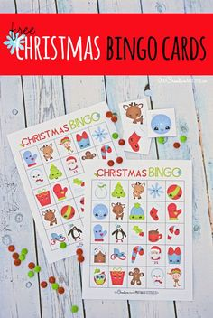The cutest free Christmas Bingo Boards! Enjoy time with kids using these free Christmas bingo cards! They're perfect for family game night or a class party at school. A fun game for holiday break. Christmas Bingo Printable, Christmas Bingo Cards, School Christmas Party, Christmas Party Games, Christmas Crafts For Kids, Christmas Activities, Christmas Fun, Holiday Fun, Holiday Break