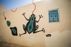 Salma (Tunisia) #streetart #erriadh #djerba #tunisia #acrylic