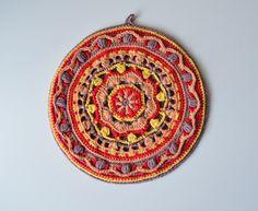 Overlay crochet mandala by Lilla Bjorn