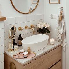 decor ross decor decor 2020 decor with gray walls decor yellow and grey decor gold bathroom decor wall decor yellow and grey Bathroom Inspo, Bathroom Inspiration, 1920s Bathroom, Parisian Bathroom, Zen Bathroom, Natural Bathroom, Shower Bathroom, Downstairs Bathroom, Bathroom Ideas