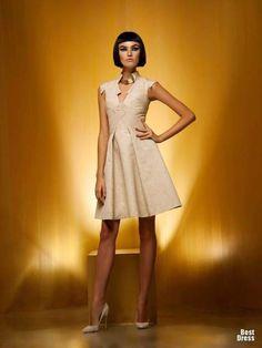 Grandiosos vestidos cortos de fiesta para cóctel : Moda en vestidos de fiesta