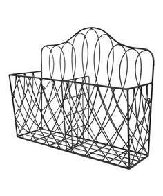Vintage Vibe: Home Décor | wire basket