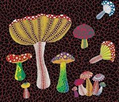 Yayoi Kusama, Illustration for Lewis Carroll's 'Alice's Adventures in Wonderland , (Penguin Books)