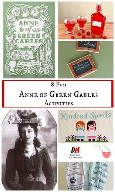 Love Anne of Green Gables? Keep the fun going after you finish the books with these Anne of Green Gables activities.