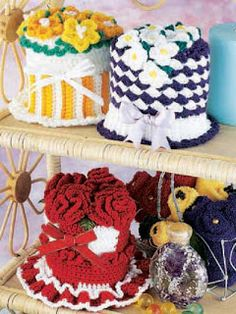 Miss Julia's Vintage Knit & Crochet Patterns: Free Patterns - toilet paper covers