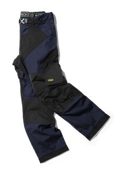 Work Trousers With Kneepad Pockets Snickers Flexiwork 6903