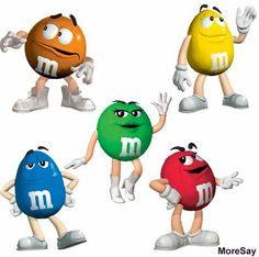 M&M Characters | My Branding Blog: Brand characters