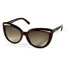 DSQUARED2 Tortoise-Brown Cat-Eye Gradient Sunglasses Brown Cat, Resort  Wear, Tortoise 0a0985d15d7f