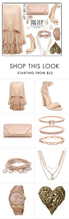 """""""Polyvore Nude Lip"""" by filmaandry ❤ liked on Polyvore featuring beauty, Faith Connexion, Call it SPRING, Dorothy Perkins, Accessorize, Marjana von Berlepsch, Vera Bradley, Rolex, Sugarboo Designs and nudelip"""