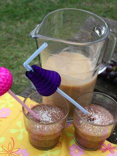 moddersoep (kokos chocolade melk)